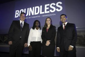 Image of stakeholders at Boundless launch