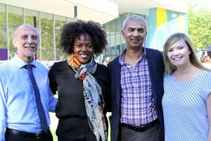Ulrich Krull, Karen Grant-Cater, Rajesh Chandegra and April Forbes