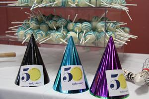 Cake Pops And Party Hats For 50th