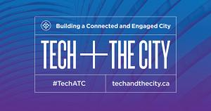 Tech and the city banner