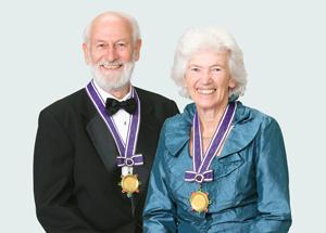 Peter and Rosemary Grant