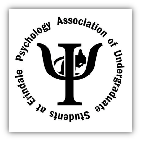 Psychology Association of Undergraduate students at Erindale written as a circle around the greek letter psi and a rat