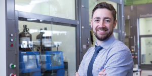 Photo of Patrick Gunning for the Centre for Medicinal Chemistry