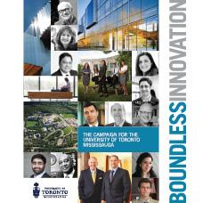 Cover image from the UTM Boundless Innovation Campaign Case for Support
