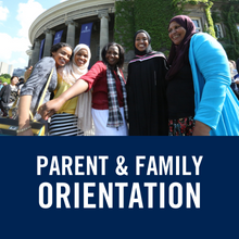 Parent & Family Orientation (link)