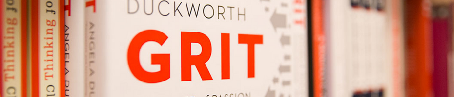 "Cover of the book ""Grit"""