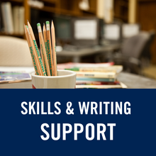 Skills and writing support icon