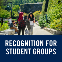CCR recognition for student groups (link)