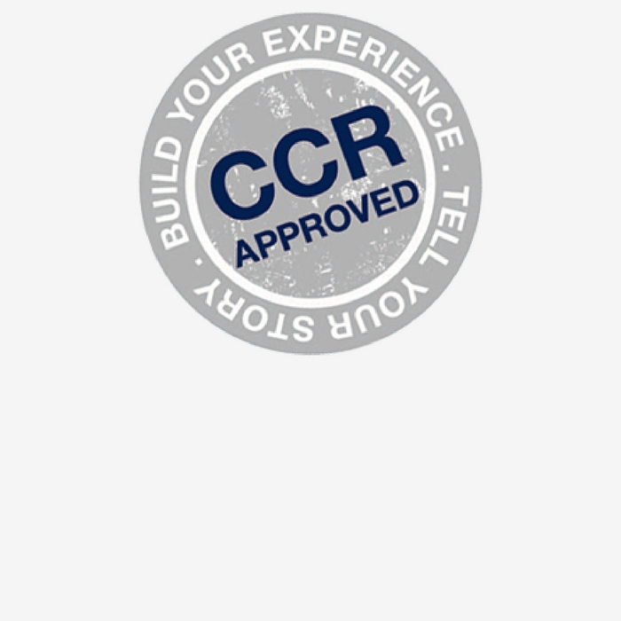 CCR approved logo