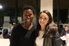 Two women, a mentor and mentee from the program