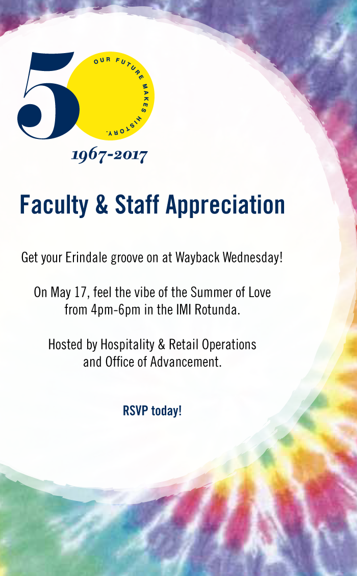 Faculty & Staff Appreciation