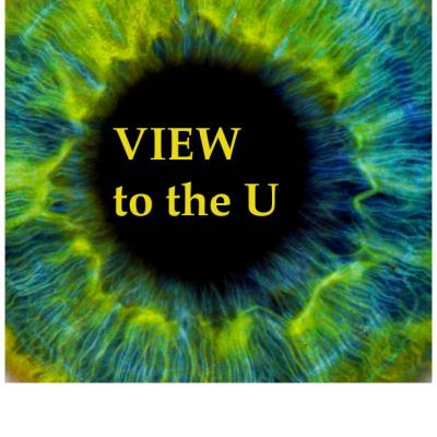 Hosted by the Office of Research, View to the U: An eye on UTM research
