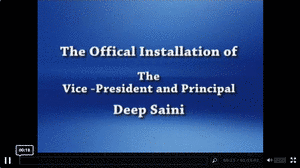 First/Introductory slide of the Installation webcast