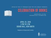 Celebration of Books 2019 Poster