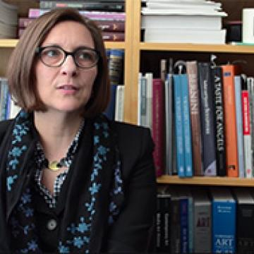 Image of Professor Evonne Levy from the Department of Visual Studies